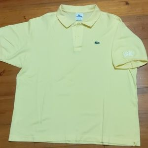 Yellow Lacoste Samuel Adams XL/XXL Polo Shirt